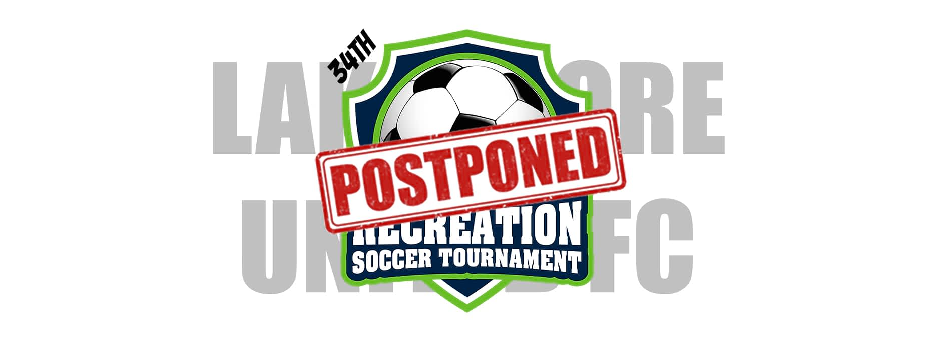 Youth Recreational Tournament Postponed to Fall
