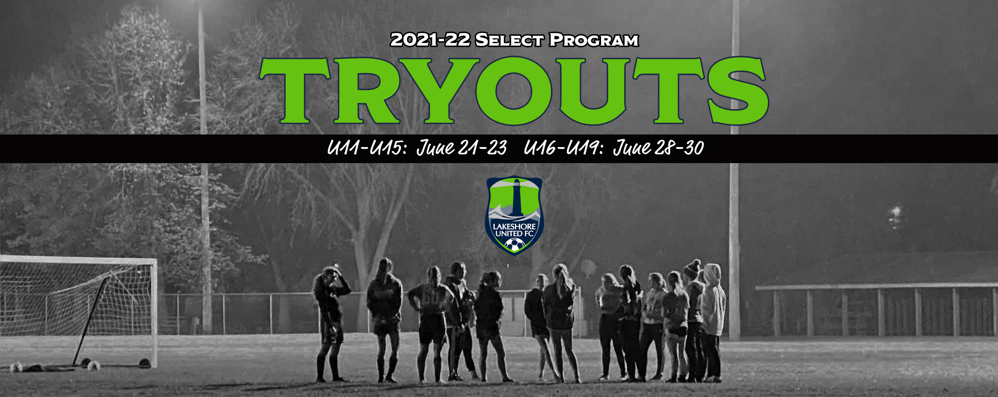 Register for Select Tryouts