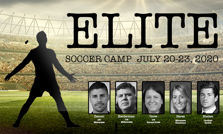 Elite Soccer Camp July 20-23, 2020 in Sheboygan, Wisconsin