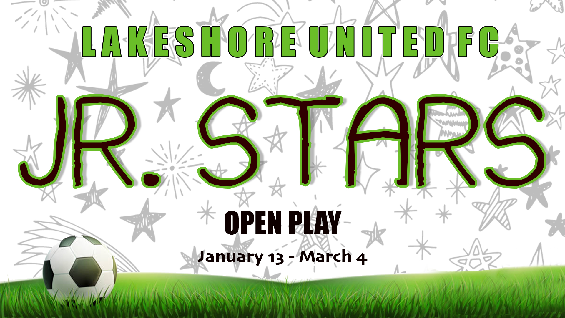 Jr. Stars Open Play Extended Through January